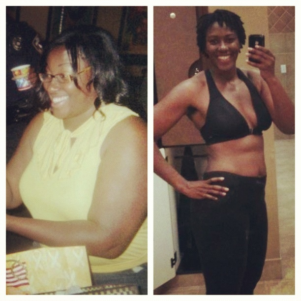 Sharnita lost 79 pounds | Black Weight Loss Success