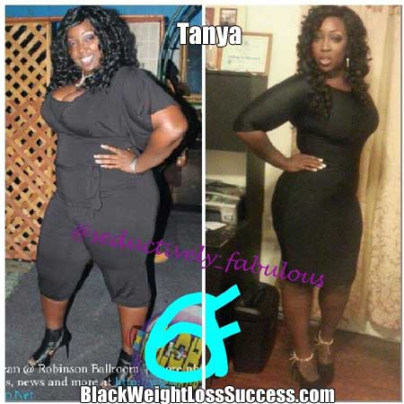 Tanya before and after  Waist Training Before And After Plus Size