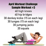 April Workout Challenge – Spring Into Fitness 2014