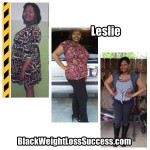 Leslie lost 71 pounds
