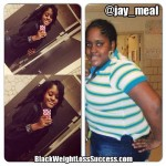 Jaymee lost 123 pounds