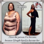 Tanisha lost 91 pounds with surgery, healthy eating and exercise