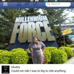 Mia went from 260 pounds to 16% body fat