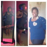 Shardee lost 50 pounds