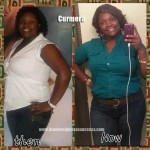 Curmera lost 45 pounds