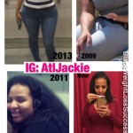 Jackie lost 114 pounds