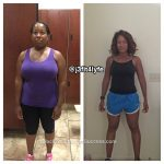 Jackie lost 68 pounds