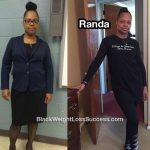 Randa lost 88 pounds